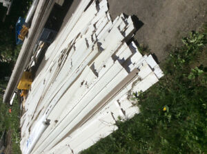 Vinyl siding about 8 square 8 years old $150