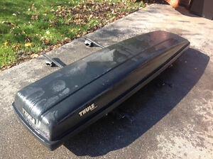 """THULE"" 55""L CAR ROOF RACKS WITH LOCKS - needs new keys Oakville / Halton Region Toronto (GTA) image 1"