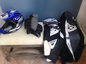 Équipement bmx ou motocross