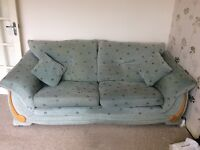Two three-seater sofas for sale (collection only)