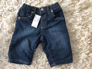 NEW Children's Place jeans w tags pd 16.95 w thin jersey liner