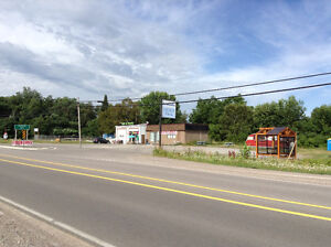 Chip truck space and commercial retail space for lease-Lakefield