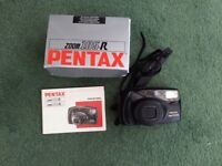 PENTAX CAMERA ZOOM 105-R, VERY LITTLE USED
