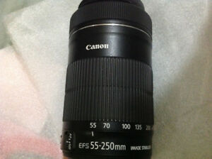 Canon EF-S 55-250mm F/4-5.6 IS STM zoom lens
