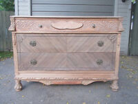 "ANTIQUE DRESSER ""YOUR CHALK PAINTING PROJECT"""