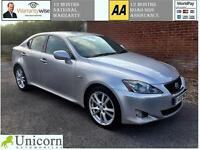 2006 Lexus IS 220d 2.2TD ( Multimedia ) Sport 12 MONTHS NATIONAL WARRANTY