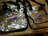 2 Bags transparent Buffalo Bills brand new with tags