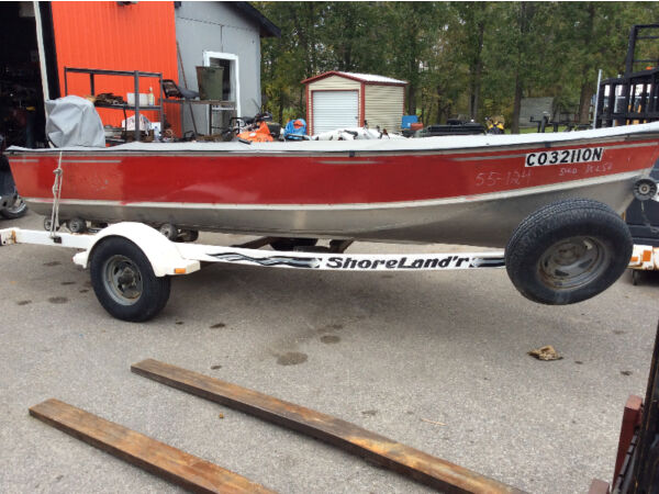 Used 1996 Lund Boat Co 1984 Lund Aluminum Fishing Boat