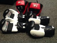 Boxing sparring kit