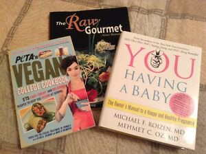 Misc Books - Cooking & Baby Books