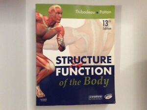 Structure & Function of the Body 13th Edition by Thibodeau & Pat