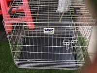 Car dog cage medium size