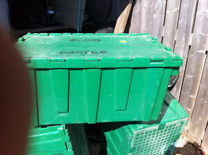 Storage boxes with hinged lids Windsor Region Ontario image 1