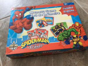 Jeu de mémoire Spider-Man et ses amis, de Gladius