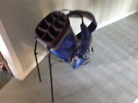 Like new.. PING...CARRY BAG with Stand and double straps