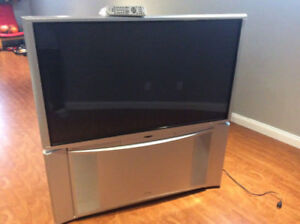 "51"" Hitachi rear projection HD TV"