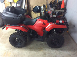2015 Honda TRX500 Rubicon DCT IRS EPS with 337 kms - (23.9hrs)