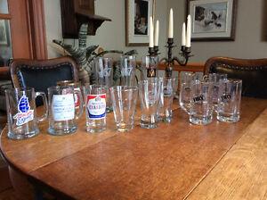 MOLSON + HEINEKEN verres et chopes à bière collectionneur