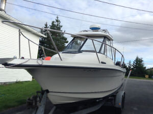 Trophy pro boat for sale