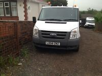 FORD TRANSIT S/W/B 58PLATE 77,000MILES DIRECT BT F/S/H NO VAT