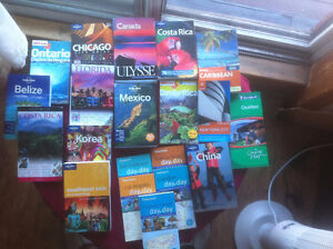 Travel guides, total 27, over 27 cities & countries