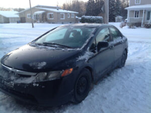 2008 Honda Civic Berline bas km