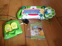 Leapfrog My First Keyboard with a mouse plus 3 games