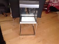 Fish tank (28 litre) glass with upgraded lights by Tetra