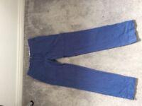 Ralph Lauren Trousers, Blue, 32W 34L