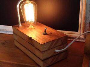 Lampes industrielle rustique