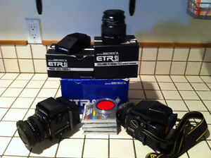 Bronica ETRS and ETRSi and accesories