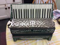 Beautiful old Pancoti accordion.