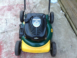 6hp gas lawnmower
