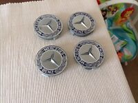 Genuine Mercedes centre wheel caps( not cheap copies)