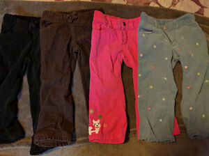 Cords - 4 pairs size 2T