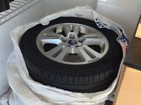 SAAB rims with tires