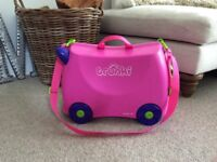 Ride on pink trunki
