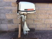 YAMAHA 8HP AIR COOLED DUEL FUEL OUTBOARD BOAT ENGINE