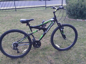 "Supercycle Vice 24"" Full Suspension Mountain Bike"