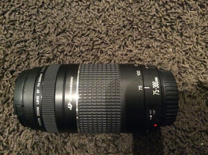 Canon 75-300 EF zoom lens