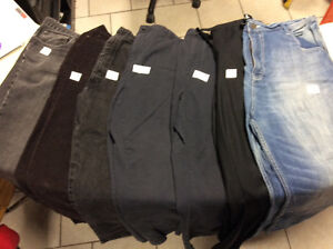 Large assortment of quality men's pants, jeans and corduroy pant Stratford Kitchener Area image 1