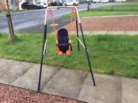 Toddler swing in good condition