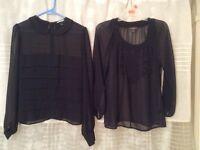 Womens chiffon blouses
