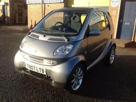 Smart Smart 0.7 Fortwo Passion , 2007, PANORAMIC ROOF, S/H, LADY OWNER