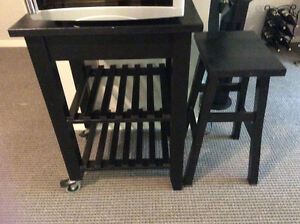 Kitchen cart/table for 2