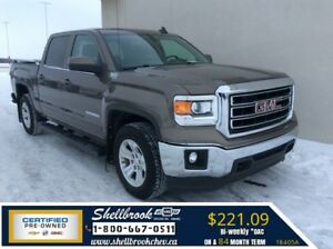 2015 GMC Sierra 1500 SLE-REMOTE START,REAR CAM - $221.09BW!