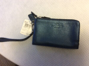 Brand new Coach double wristlet