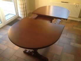 Old Charm Oak Dining Table and chairs High Quality £135 excellent condition