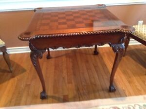 Games table or center hall table