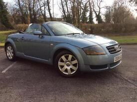 Audi TT Roadster 1.8 ( 150bhp ) 2004MY T Cheap sports car